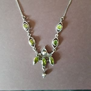 Vintage sterling silver necklace